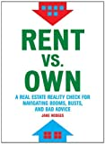 img - for Rent vs Own book / textbook / text book