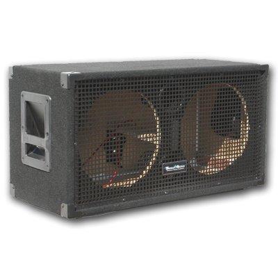 save seismic audio empty 212 guitar speaker cabinet 2x12 pa dj pro audio loaded. Black Bedroom Furniture Sets. Home Design Ideas
