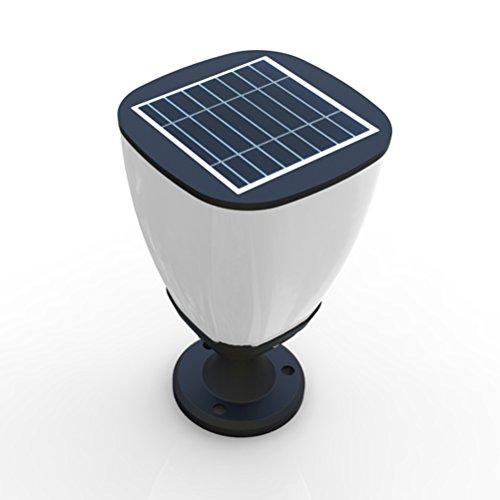 Solar Powered 16 Led Lamp Post Deck Street Light