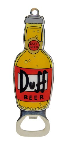 "United Labels 0118286 Flaschenöffner The Simpsons ""Duff-Bier"""