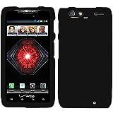 Black Rubber Hard Rubberized Case Cover For Motorola Droid Razr Maxx 912M 913 916 Razor Max with Free Pouch