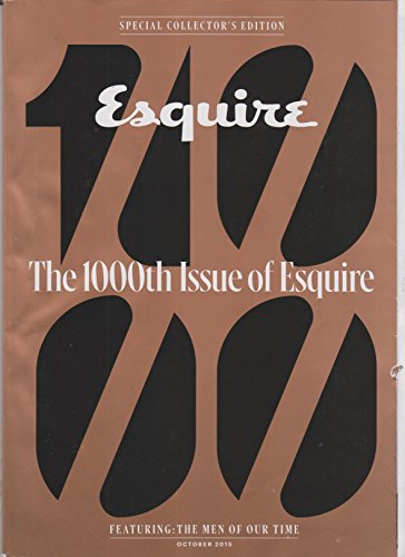 Esquire October 2015 The 1000th Issue of Esquire PDF