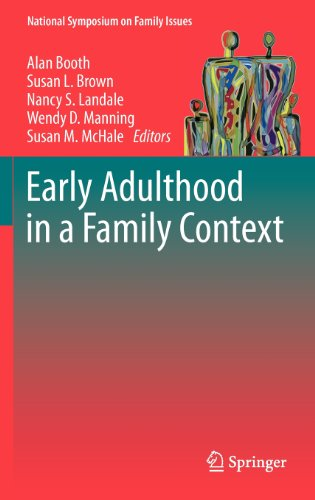 Early Adulthood In A Family Context (National Symposium On Family Issues) front-838939