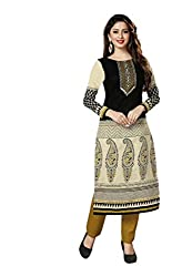 AMP IMPEX Ethnicwear Women's Kurti Fabric Multi-Coloured Free Size