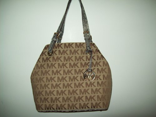 Michael Kors Jet Set Item Grab Bag Tote - BG/EB/NAYPYT