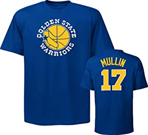 Golden State Warriors Chris Mullin Adidas Majestic Royal Blue Throwback Shirt by Majestic