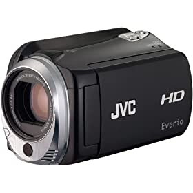 JVC GZ-HD500 80 GB High Definition HDD Camcorder