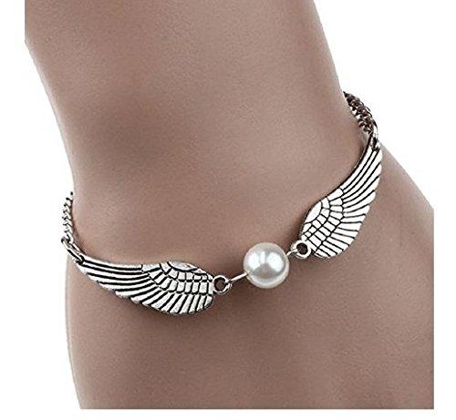cargomixc-bijoux-bracelet-linfini-dargent-perles-ailes-dange-retro-bijoux-bracelet-colombe-de-la-pai