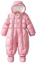 KANZ Baby Baby-Girls Newborn Snowsuit, Cashmere Rose, 1 Month