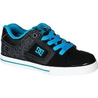 ディーシー DC Pure Skate Shoe - Boys' Black Aegean アウトドア キッズ 子供 男の子 ブーツ 靴 シューズ 並行輸入