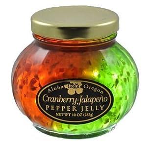 Aloha From Oregon Cranberry and Jalapeño Split Pepper Jelly by Aloha From Oregon