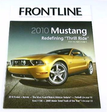 FORD BROCHURE MAG Mustang Shelby Cobra GT GT