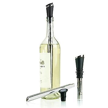 tempour a rateur de de vin refroidisseur filtre verseur et bouchon cuisine bouchon. Black Bedroom Furniture Sets. Home Design Ideas