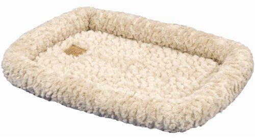 Precision Pet Snoozzy Crate Bed 6000 51 In. X 33 In. Natural Cozy front-998376