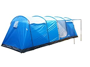 This stylish and spacious 4-bedroom + 1 living room family group c&ing tent can accommodate 8 people (recommendation)Up to 10 person.  sc 1 st  Outdoor Sport Recreation & Peaktop Waterproof 5000mm 4+1 Room 8 Person Big Tunnel Family ...