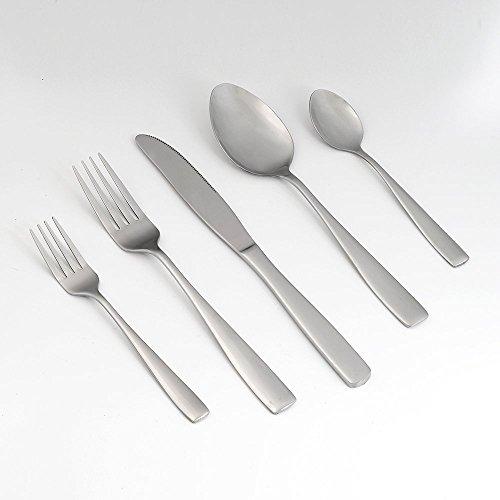 Eslite Stainless Steel Flatware Sets, 30-piece, Service for 6 (Modern Flatware Stainless Steel compare prices)