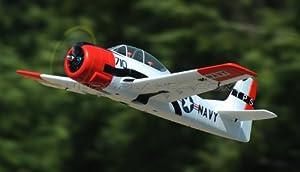Dynam 5-CH T-28 Trojan 1270mm Brushless RC Warbird Plane (ARF Red)
