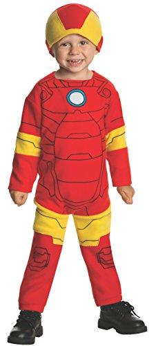 Marvel Classics Avengers Assemble Fleece Iron Man Costume, Toddler - 1