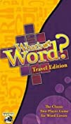 Whats My Word  TRAVEL EDITION