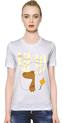 a-moose-with-kite-womens-t-shirt-x-large