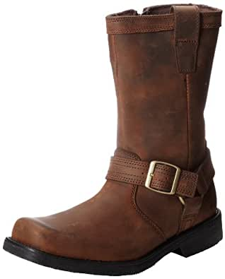 Harley-Davidson Men's Camden Motorcycle Boot,Brown,8 M US