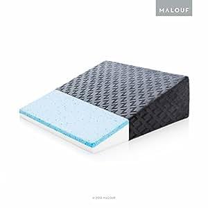 Amazon Com Z Gel Infused Memory Foam Wedge Pillow