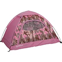 Magellan Outdoors Jr. Dome Tent Bundle (Pink/Green)