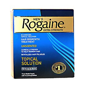 Regaine For Men Hair Loss Treatment Extra Strength 5% Minoxidil 3 x 60ml