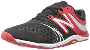 New Balance - Mens Pro Baseball Limited Edition Minimus 20v3 Minimal X-training Shoes, UK: 9 UK - Width D, Black with Team Red & White