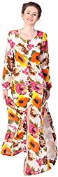 Unimod Women's Full Dress (Multicolour, M)