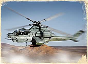 Forces of Valor AH-1Z Bell Viper Diecast Vehicle, Scale 1:72