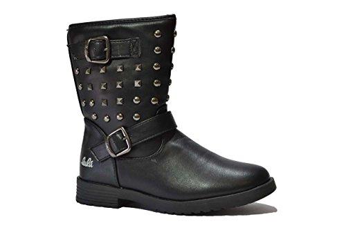 Lulu' bambino Tronchetti scarpe bambina nero DANNY 34