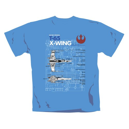 Official Licensed Merchandise - Haynes Manual Star Wars T Shirt X Wing new unisex all sizes