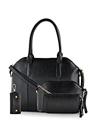Mark & Keith Women Handbag Black MBG 0304 BK