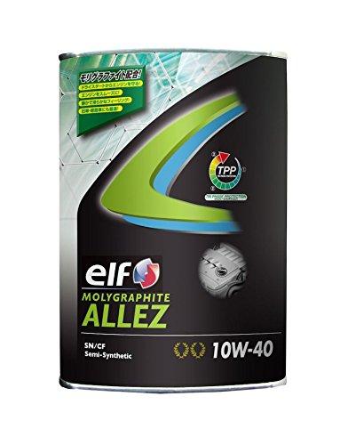 elf ( エルフ ) エンジンオイル【MOLYGRAPHITE ALLEZ】10W-40 1L【HTRC3】