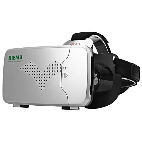 Olayer RITECH Riem 3 Virtual Reality 3D VR Glasses Head Mounted Headset Private Theater for 3.5 - 6 inches Smartphone