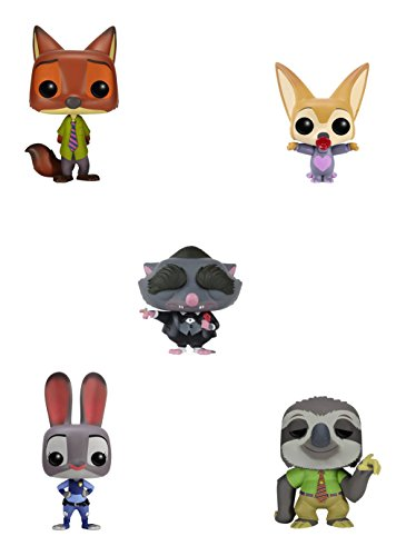 Funko Zootopia POP! Disney Vinyl Action Figure Collectors Set