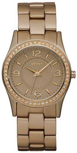 DKNY 3-Hand Analog with Glitz Aluminum Women's watch #NY8310