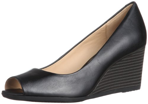 Geox Women's D Consuelo B Lace-Up Flats Black Noir (Black) 4 (36.5 EU)