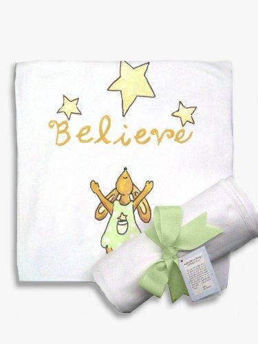 Light of Mine Designs Believe Receiving/Swaddling Blanket