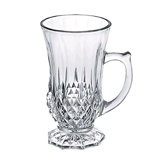 Europeware 6 Piece Drinking Set, Clear