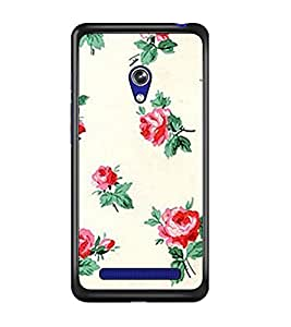 PrintDhaba Floral Pattern D-2342 Back Case Cover for ASUS ZENFONE 5 A501CG (Multi-Coloured)