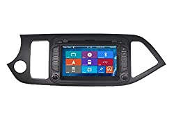 See Crusade Car DVD Player for Kia Picanto Morning 2011- Support 3g,1080p,iphone 6s/5s,external Mic,usb/sd/gps/fm/am Radio 7 Inch Hd Touch Screen Stereo Navigation System+ Reverse Car Rear Camara + Free Map Details