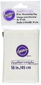 Wilton Cake Decorating Bag Instructions : Amazon.com: Wilton 18 Inch Featherweight Decorating Bag ...