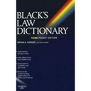 Amazon.com: Black's Law Dictionary (Pocket), 3rd Edition ...