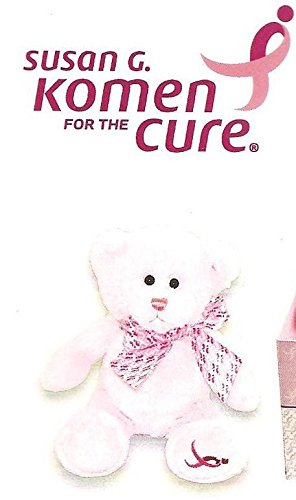 "Susan G. Komen Breast Cancer Awareness Mini Bear 6"" - 1"