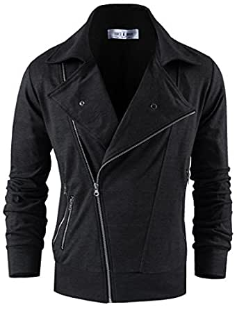 Tom's Ware qualite Zip-up veste polaire Hommes TWSS312H-CHARCOAL-3XL (US 2XL)