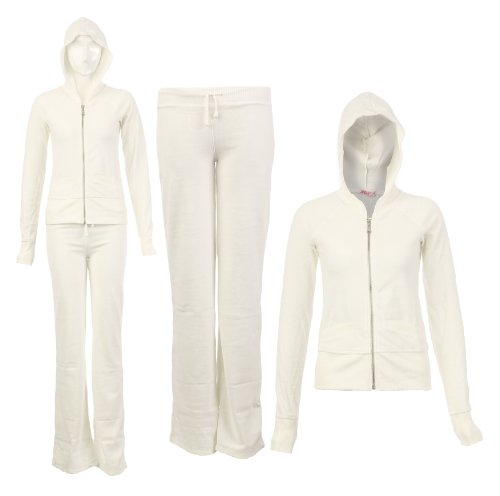 Womens Hooded Tracksuits Jacket & Joggers Ladies