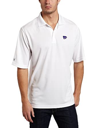 Buy NCAA Kansas State Wildcats Exceed Desert Dry Lite Polo Mens by Antigua