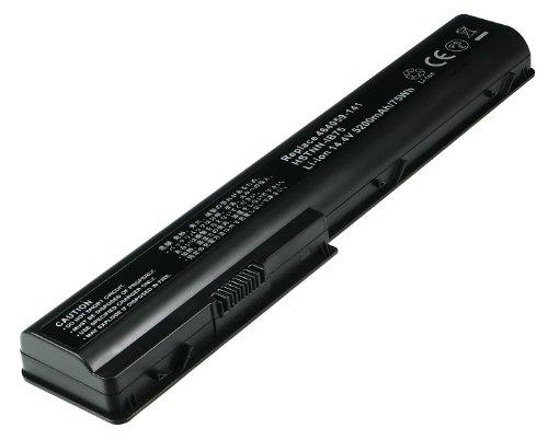 2-Power Laptop-Akku für HP Pavilion DV7-1000 (14,4V/ 5200mAh, ersetzt Originalteil Nr. 464059-251 und 464059-141)